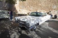 Exhibición de vehículos clásicos