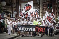 Marcha lenta por la N-122 al mismo ritmo que las obras: desde Soria hasta Aranda de Duero