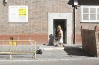 Obras en la calle Hernán Cortés.