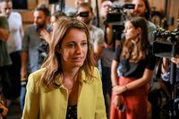 La concejala de Cultura, Turismo y Deporte en Madrid, Andrea Levy, visita la capilla ardiente de Camilo Sesto, instalada en la sede de la SGA, un dÁa después del fallecimiento del cantante, el 8 de septiembre de 2019.