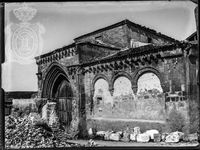 Iglesia de San Juan de los Caballeros, sobre 1905.
