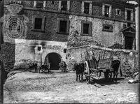 Convento del Carmen Calzado. Sobre este inmueble se levantó el edificio de la Caja de Ahorros y Monte de Piedad de Segovia.