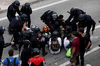 Activistas independentistas intentan paralizar el Aeropuerto de El Prat