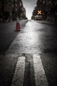 Obras de mejora del asfaltado de las travesías en la avenida de Valladolid.