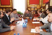 Reunión del Ayuntamiento con el Patronato del Real Valladolid