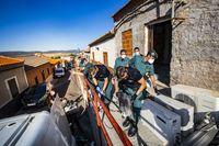 Macro Operación antidroga de la Guard...