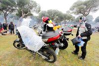 Último día de la XXXVII Concentración Motorista Invernal Pingüinos 2020