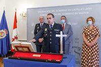 Toma de posesión del nuevo comisario de Segovia