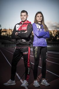 Óscar Acebes y Jimena Borque