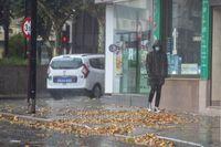 Temporal de viento y lluvia en Albacete