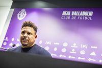 Primera rueda de prensa del presidente del Real Valladolid Ronaldo