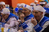 baile de carnaval de la tercera edad, baile de carnaval de los abuelos