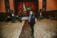 Reportaje en Alcazar de San Juan del cine Crisfellm que ha cerrado y lo hab vendido al ayuntamiento de Alcazar, el primer cine de la provincia de año 1908, cine antiguo Crifel de Alcazar