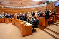 Debate de política general de la Junta de Castilla y León en las Cortes 01