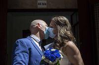 La primera boda tras casi tres meses de Estado de Alarma