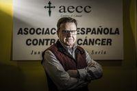 Nuevo presidente de la Asociación Española Contra el Cáncer en Soria, Jesús Aguarón Pérez.