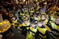Burgos: concurrido desfile de carnaval