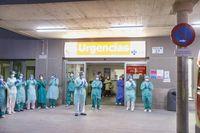 'Homenaje de las 8' en el Hospital Ge...
