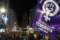 Las mujeres toman las calles españolas