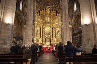 Misa en La Redonda por motivo de San Bernabé