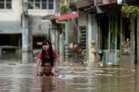 El tifón 'Vamco' golpea Filipinas