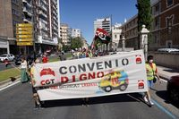Manifestación de los trabajadores de ...
