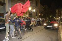 Una treintena de manifestantes abuchearon al ministro de Cultura a su llegada a Abycine
