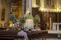 Flores para la Virgen de Los Llanos