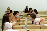 Arranca la EBAU en la Universidad de Valladolid
