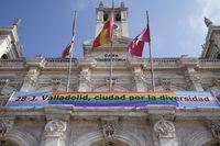 Acto institucional de Valladolid por el Día del Orgullo LGBTI