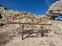 Nuevo acto vandálico contra el letrero de Urbión en Covaleda