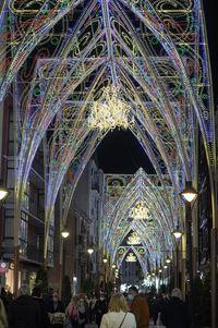 Valladolid adelanta el encendido de la iluminación navideña de sus calles