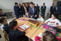 Inauguran el colegio Ildefonso Navarro en Villamalea