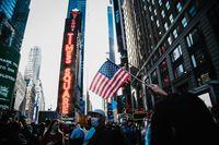 Nueva York celebra en las calles la v...