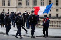 París protesta contra la violencia po...