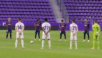 Imágenes del Real Valladolid-Levante