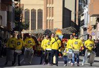 Los niños mantienen el Carnaval en Almansa