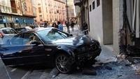 Accidente en la calle Nicolás Salmerón