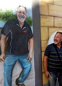 Un barrio retratado en las paredes