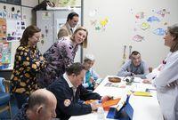 Isabel Blanco visita el Centro de Día...