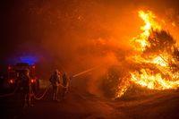 Los incendios asedian Orense