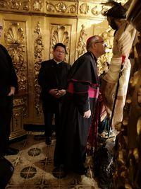 Francisco Cerro entra en la archidiócesis por Calzada de Oropesa