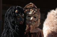 Zamarrones y mascaritos regresan a las calles de Aguilar