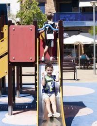 Los niños reconquistan los parques