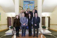 Visita del Colegio Oficial de Médicos de Segovia al Centro de Servicios Sociales La Fuencisla
