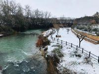 Nieve en la provincia (fotos de los lectores)