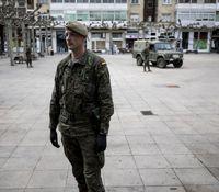 El Ejército ayuda a controlar la cuarentena