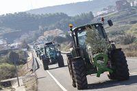 Tractorada de los agricultores de la Sierra de Alcaraz