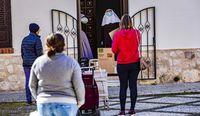 Las colas del hambre en Ciudad Real
