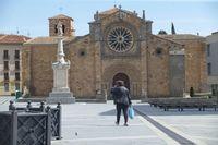 Ávila en confinamiento